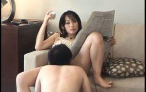 人妻痴女クンニ奴隷動画